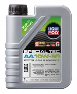 "Масло моторное полусинтетическое ""Liqui Moly Special Tec AA"" 10W-30"