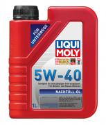 """Масло моторное синтетическое универсальное  """"Liqui Moly Nachfull-Oil"""" 5W-40"""