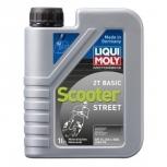 """Масло моторное минеральное для скутеров и двухтактных двигателей""""Liqui Moly Racing Scooter 2T Basic"""